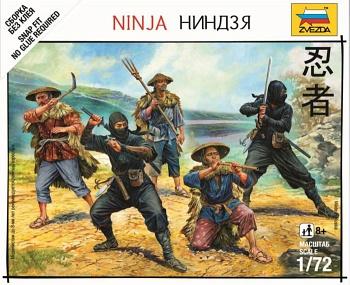 "Набор миниатюр ""Битвы самураев. Разведчики-ниндзя"" (Звезда 6406)"