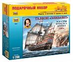 """Сборная модель """"Подарочный набор. Галеон Элизабет эскадры Френсиса Дрейка 1588"""""""