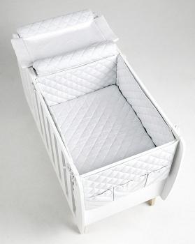 Сменное белье для кровати 76x60 Micuna Harmony белый (TX-1686)