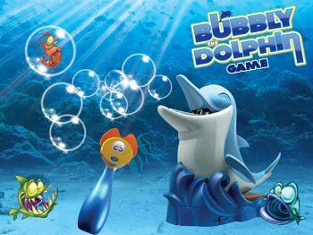 """Набор с мыльными пузырями """"Дельфин Bubbly"""" (746)"""