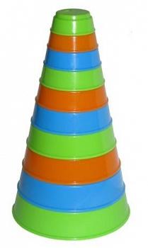 Занимательная пирамидка (Полесье 35042)