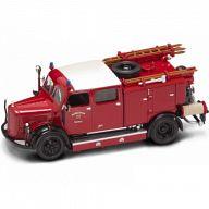"""Коллекционная модель автомобиля """"Пожарная машина. MERCEDES-BENZ TLF-50 1950"""""""