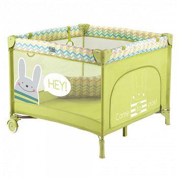 Манеж Happy Baby Alex NEW Green (2444)