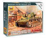 """Сборная модель """"Великая Отечественная. Немецкий огнеметный танк Pz.Kfw III"""""""