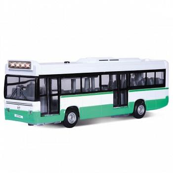 """Автобус металлический инерционный """"Городской"""" (Технопарк CT-1055 (SL701WB))"""