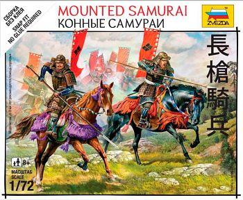 """Набор миниатюр """"Битвы самураев. Конные самураи"""" (Звезда 6407)"""