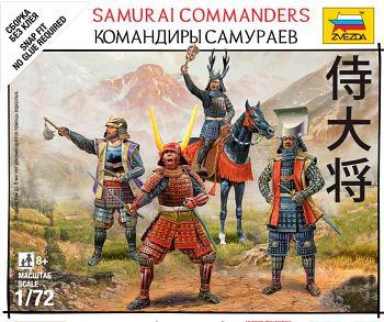 "Набор миниатюр ""Битвы самураев. Командиры самураев"" (Звезда 6411)"