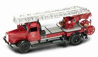 """Коллекционная модель автомобиля """"Пожарная машина. MERCEDES L4500F 1944"""""""