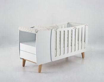 Кровать-трансформер 120x60 Micuna Harmony Relax белый