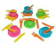 """Набор игрушечной посуды на 6 персон """"Минутка"""""""