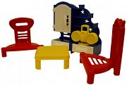 """Набор мебели для кукол """"Кристина. Гостиная"""""""