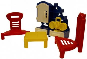 """Набор мебели для кукол """"Кристина. Гостиная"""" (ПК Форма С-49-Ф)"""