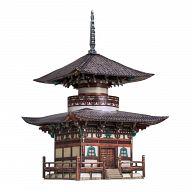 """Сборная модель из картона """"Пагода Хонпо-дзи"""" (65 деталей)"""