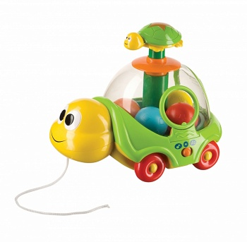 "Музыкальная каталка-юла ""IQ-Turtle"" (Happy Baby 330064)"