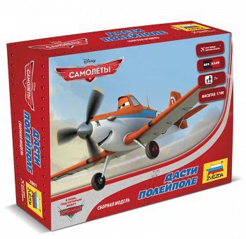 """Сборная модель """"Disney. Самолёты. Дасти Полейполе"""" (Звезда 2061)"""
