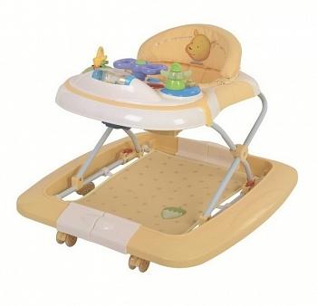 Ходунки-качалка Happy Baby Robin Golden (2449)
