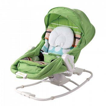 Шезлонг-люлька Happy Baby Egoist Green (2652)