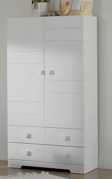 Шкаф Micuna белый (A-1412)