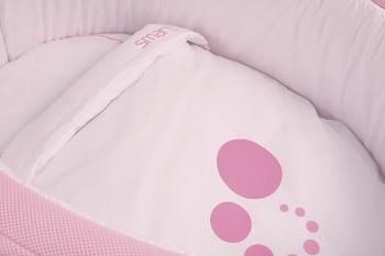 Сменное белье для колыбели Micuna Smart розовый (TX-1482)